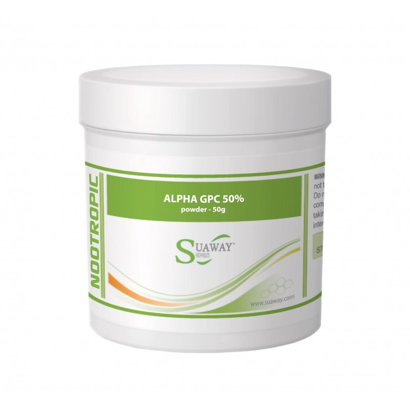 Alpha GPC 50% Powder - 50g, 100g