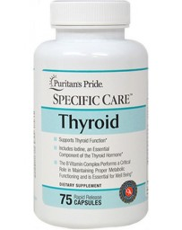 Specific Care™ Thyroid - 75 Capsules