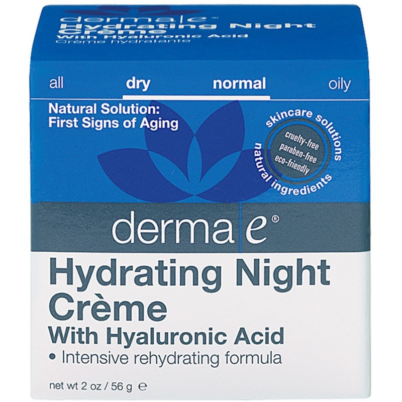 Derma E® Hyaluronic Acid Night Crème - 56 g