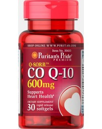 CoQ-10 600mg - 30 Rapid Release Softgels