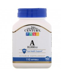 Vitamin A 10.000 IU - 110 Softgels