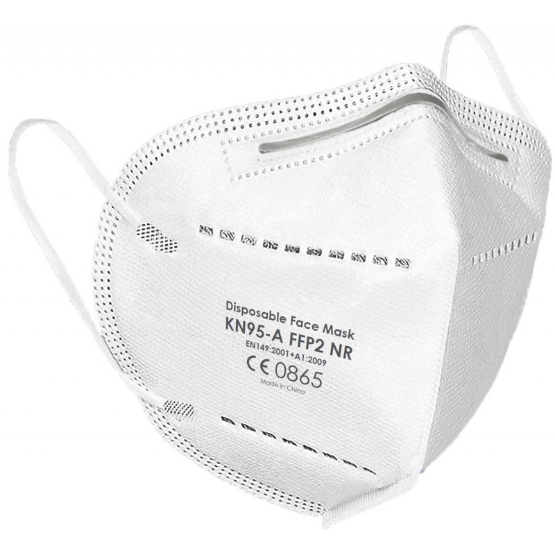FFP2/KN95 PROFESSIONAL PROTECTIVE MASK - 5 PIECES