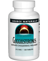 GUGGUL CHOLESTEROL COMPOUND 375MG - 120 TABLETS
