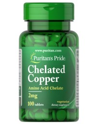 Copper Chelate, 2 mg - 100 Tablets