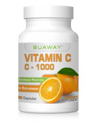VITAMIN C-1000MG WITH BIOFLAVONOIDS - 90 CAPSULES