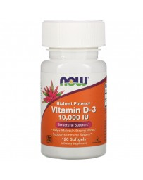 VITAMIN D3 10,000 IU - 120 SOFTGELS