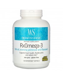 RxOmega-3, WomenSense - 120 Enteripure Softgels